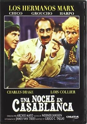 Una Noche En Casablanca (Hermanos Marx) [DVD]: Amazon.es: Varios ...
