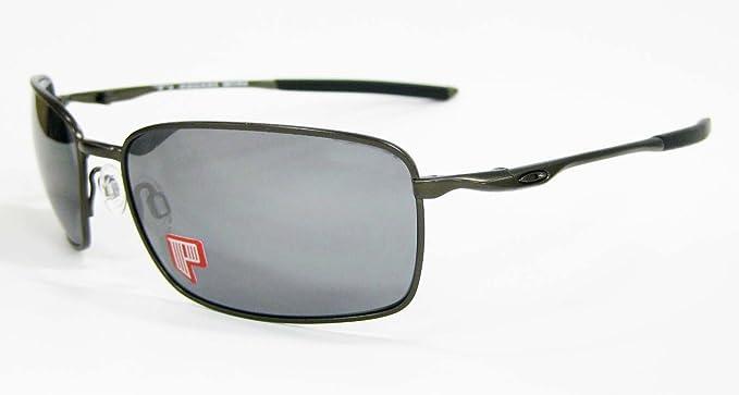 Oakley Gafas de sol polarizadas Square Wire Titanium OO6016 ...