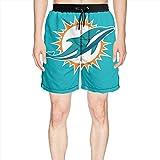 Ainnie W Miami_Dolphins_Primary Logo Man Beach Shorts Shorts Sweatpants