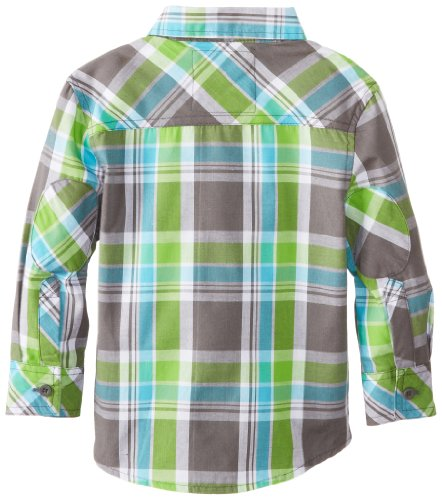 Company 81 Little Boys' 2/4 Plaid Shirt, Castle Rock, 3T