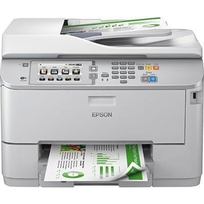 Epson Corporation - Epson Workforce Pro Wf-5690 Inkjet Multifunction Printer - Color - Plain Paper Print - Desktop - Copier/Fax/Printer/Scanner - 20 Ppm Mono/20 Ppm Color Print (Iso) - 20 Ipm Mono/20 Ipm Color Print (Iso) - 4800 X 1200 Dpi Print - 19 Cpm