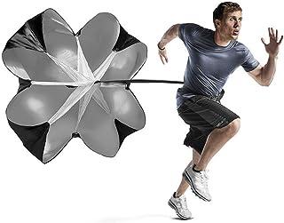 OSAYES la Vitesse de Circulation s'powerchute Parachute 56 cm - entraîneur de Football pour Pouvoir la Formation Sprint Forage Coureur, Le Football, Le Soccer