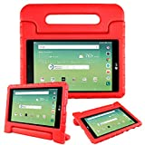 lg 3 tablet cases - Bolete Case for LG G Pad X 8.0 Inch - Kids Shock Proof Convertible Handle Light Weight Super Protective Stand Cover for LG G Pad X 8.0 T-Mobile V521 / AT&T V520 Tablet,Red