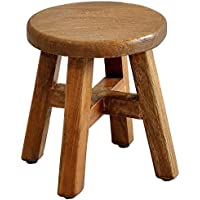 Casual Elements Child Stool (Set of 2), Rustic Mango Natural