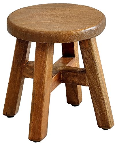 Casual Elements Child Stool (Set of 2), Rustic Mango Natural by Casual Elements