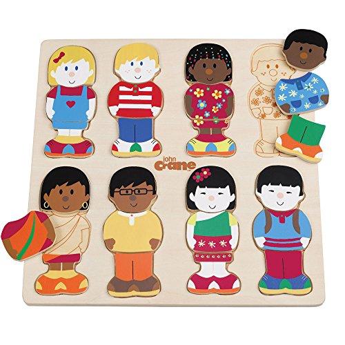 Tidlo Wooden Little Friends Puzzle