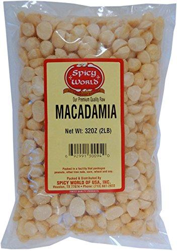 Spicy World Macadamia Nuts Halves & Pieces (Unsalted) 2 ...