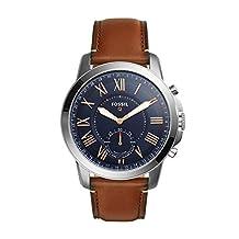 Fossil Q Grant Gen 2 Hybrid Smartwatch Light Brown Leather FTW1122