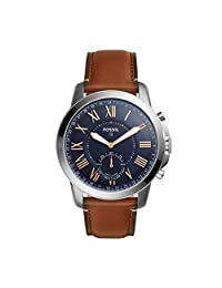 Fossil Q Grant Gen 2 Hybrid Smartwatch Light Brown Leather FTW1122