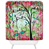 """Deny Designs Madart Inc. Through The Looking Glass Shower Curtain, 69"""" x 72"""""""
