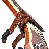 Capo,Guitar Capo,2 Pack Capo Black capo Rosewood