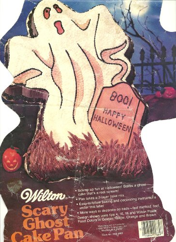 Wilton Scary Ghost/Halloween Goblin Cake Pan (502-2499, 1982) ()