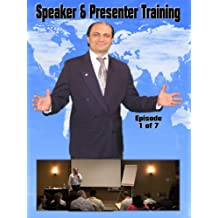 Public Speaking, Seminar Speakers Speaking on Stage with Confidence & Power