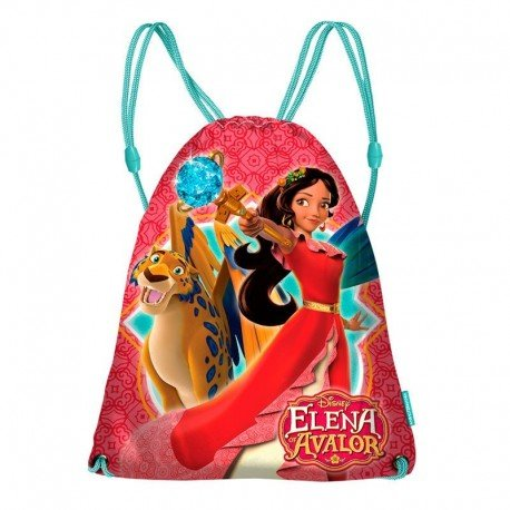 Elena De Ávalor Skylar Drawstring Bag, 43 cm, Pink (Rosa) 36272