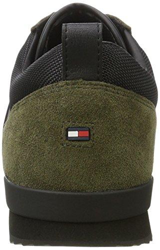 Verde da Uomo 11c5 Tommy Hilfiger Night black Olive Basse Ginnastica M2285axwell Scarpe pHwAHxq86