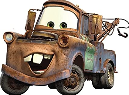 6d68bb58ae Image Unavailable. Image not available for. Color  11 Inch TOW Mater Truck  Disney Pixar Cars ...