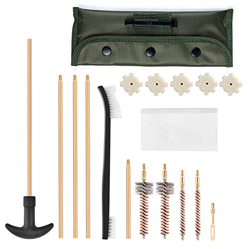 Buttstock Guide - Xage M16 and AR-15 Field Cleaning Kit – Gun Cleaning Set for All M16/AR-15/M4 Variants/Mil-Spec Quality with Carrying Case