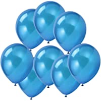 """100 ct Blue Balloon 10"""" Latex Helium Balloons for Wedding Birthday Party Festival Christmas Decorations"""