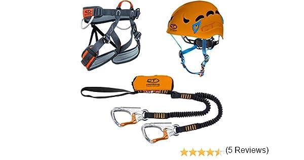 Climbing Technology Plus Kit Vía Férrea Talla:S-M: Amazon.es ...