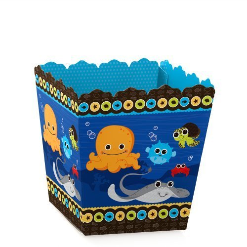 Sea Critters (Under The Sea Critters - Candy Boxes Baby Shower or Birthday Party Favors (Set of 12))