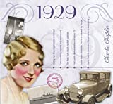 1929 Birthday Card and Hits of 1929 CD