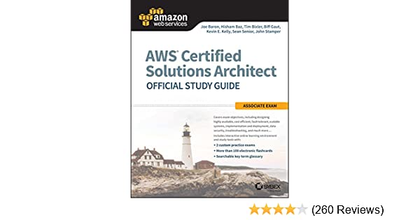 Amazon com: AWS Certified Solutions Architect Official Study
