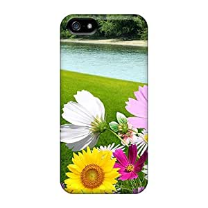 Defender Case With Nice Appearance (petals In The Wind) For Iphone 5/5s