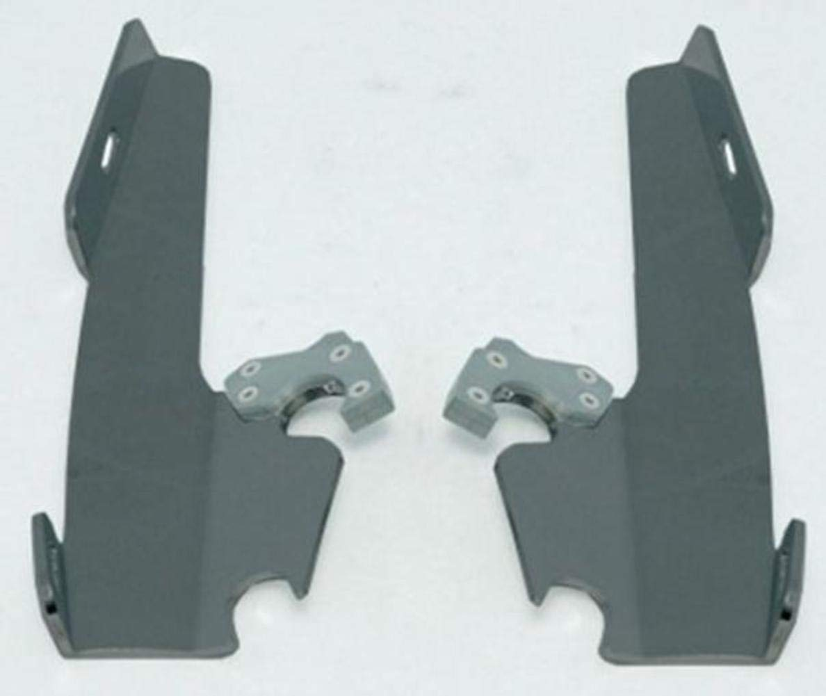 Memphis Shades MEB8881 Black Plate-Only Hardware Kit for Yamaha XV1600 and XV1700 Road Star 1999-2014