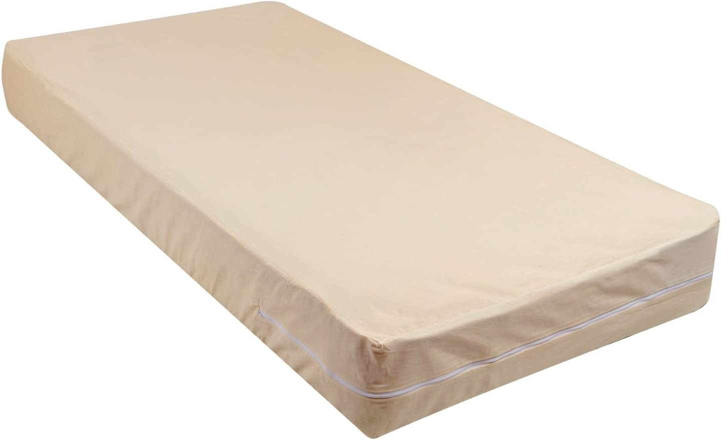 Travel Cot Mattress Quilted Zip off cover 120 x 60 x 7cm UK Mfd Quick Delivery