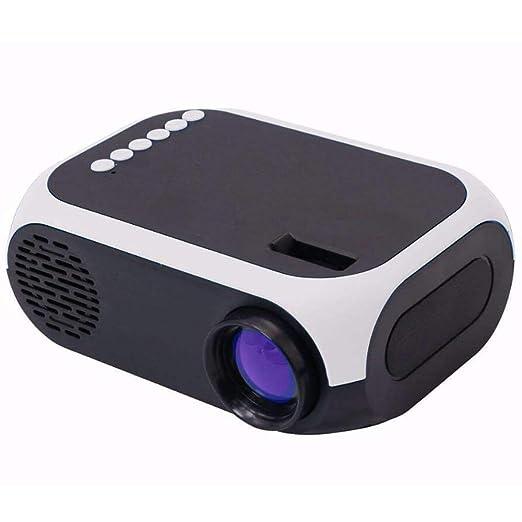 CZWNB Mini proyector niño proyector LED Fuente de luz 30.000 Horas ...