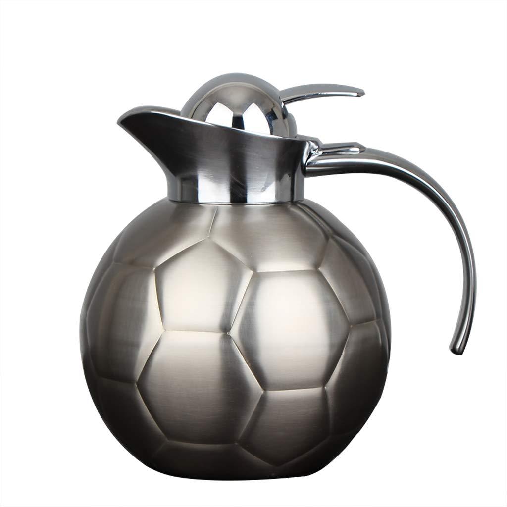 FYCZ Caraffa Termica, Thermos in Acciaio Inox 304 Thermos Home Isolamento A Lungo Termine Anti-scottatura caffè Hot Tea Drink 1.25L