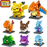 LOZ LOZOPKM08 8box Diamond 1080pcs Parent-Child Games Building Blocks Educational Toys