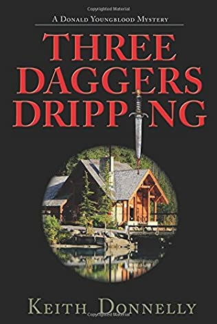 book cover of Three Daggers Dripping
