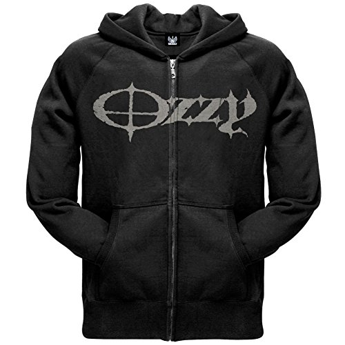 Old Glory Ozzy Osbourne - Mens God Sake Zip Hoodie Small Black (Ozzy Osbourne Brille)