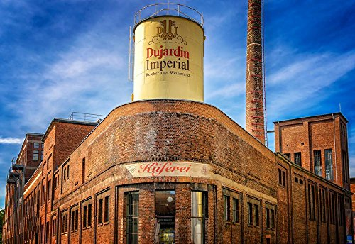 Gifts Delight Laminated 35x24 inches Poster: Brandy Restaurant Krefeld Germany Factory Industry Culture Museum Alcohol Distillery Brand Cooperage Barrel Mature Drink Dujardin ()