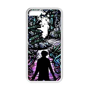 Fight Monster Abstract Art Cell Phone Case for iPhone 5C,Slim and Durable Plastic Case Protective [Ultra Fit] Shock Absorbing and Scratch Resistant Perfect 2 in 1
