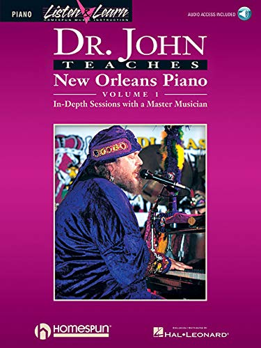 Dr. John Teaches New Orleans Piano - Volume ()