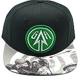 DC COMICS Green Arrow Sublimated Bill Snapback Hat NEW