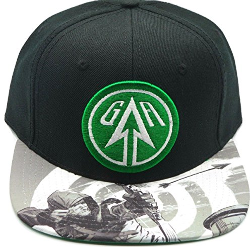 87937b74 DC COMICS Green Arrow Sublimated Bill Snapback Hat NEW - Import It All