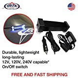 Delta kit Elite UV LED Curing Light Auto Glass Windshield Repair Kit, More Durable, Longer-Lasting