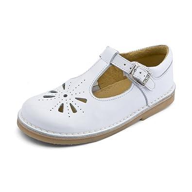 Lottie III Lottie Iii - Sandalias de piel para niñas, color blanco, talla 27 Start Rite