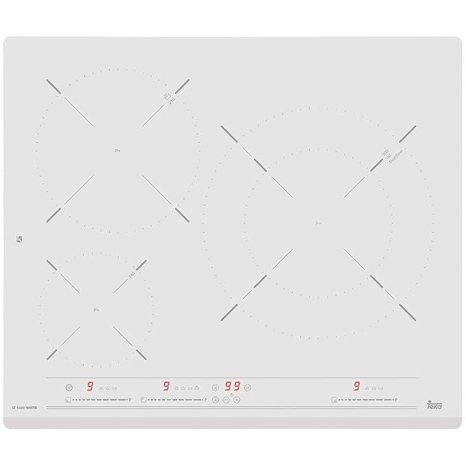 Teka IZ 6320 Blanco Integrado Con - Placa (Blanco, Integrado, Con placa de inducción, 1800 W, Alrededor, 14,5 cm)