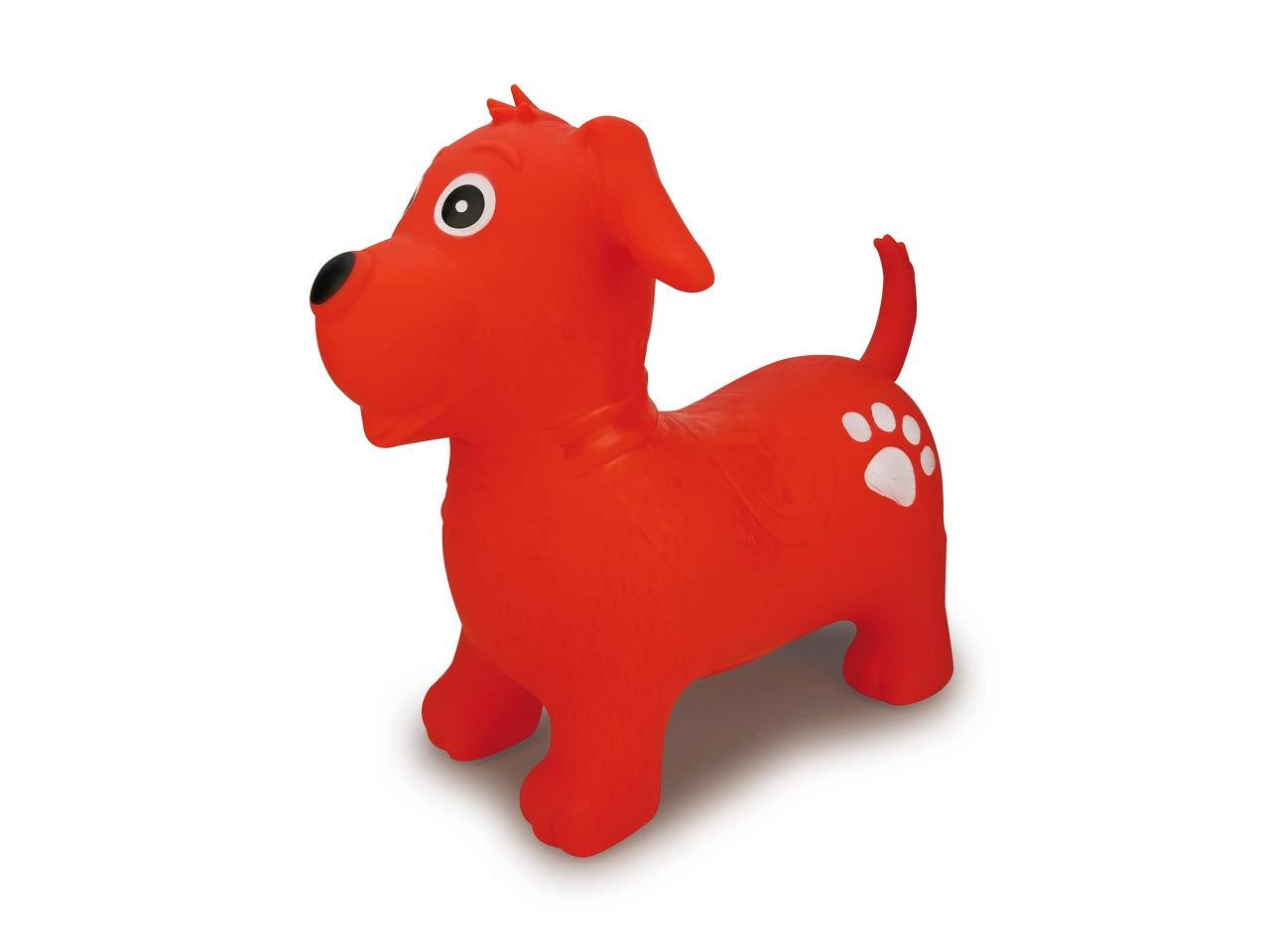 Jamara 460454-Animal saltarín Perro Bomba-Mejora el Equilibrio y ...