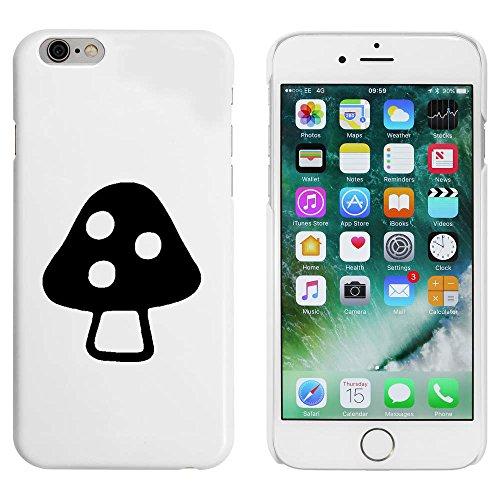 Blanc 'Champignon Vénéneux' étui / housse pour iPhone 6 & 6s (MC00085837)