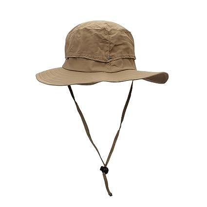 ITODA Summer Women Sun Hat UPF 50+ Foldable Bucket Fishing Cap Wide Brim  with Sweatbands 466b8e851972