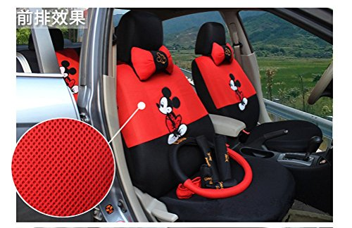 18pcs Cartoon Mouse Auto Car Cushion Car Front Driver Sad...