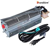 FK12 HB-RB12 R7-RB12 Replacement CFM 130 Fireplace Blower Fan Kit for Majestic Vermont Castings Monessen Rotom