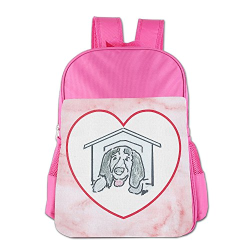 GABRIELA ROSALES Pink Marble Elegant Premium Unisex Children's Backpack School Sport Shoulder Schoolbag Bag Satchel (Glass Pressed Marble)