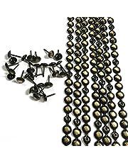 Laten we 10 meter D9.5mm Bronzen Plated Decoratieve Nail Strips/Nailhead Trims, Bekleding Sofa Tacks, Losvallende Tacks Matched (C: 9.5mm Brons)