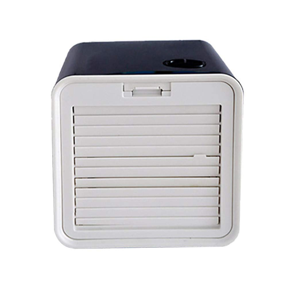 Aleola Portable Desktop USB Water Fan Air Cooler Condition Fan for Home Office in Hot Summer Days